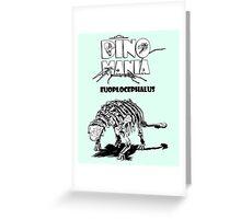 Dino Mania Euoplocephalus Greeting Card