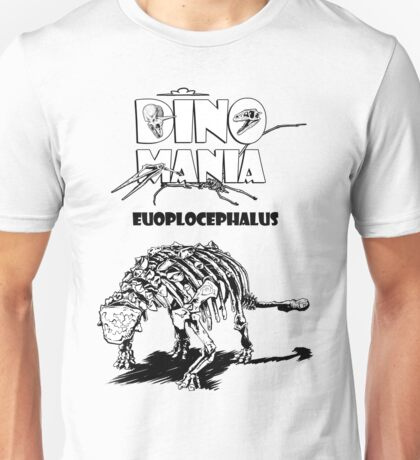 Dino Mania Euoplocephalus Unisex T-Shirt