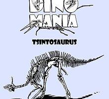 Dino Mania Tsintosaurus by Arseniy Dubakov