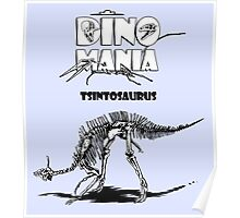 Dino Mania Tsintosaurus Poster