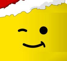 Santa Minifig - Merry 'Brick'mas Sticker