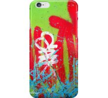 Jardin De Graffiti iPhone Case/Skin