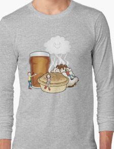 Happy Food Smells Long Sleeve T-Shirt
