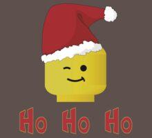 Santa Ho Ho Ho Minifig by Customize My Minifig Kids Clothes