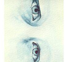 Sad Blue Eyes by random1za