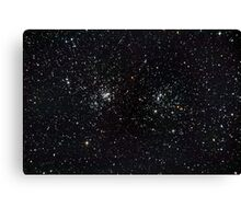 Perseus Double Cluster Canvas Print