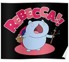 Rebecca! Poster