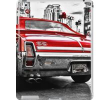Old vintage American car iPad Case/Skin