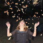 leaf toss by Carol Knepp