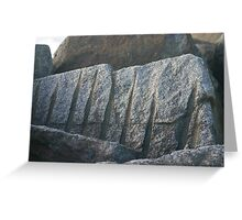 Rock Greeting Card