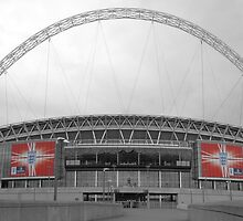 """All eyes are on Wembley"" by d1066"