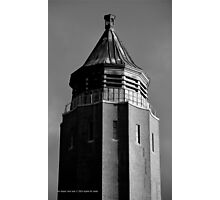 Robert Moses Water Tower | Fire Island, New York  Photographic Print