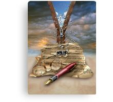 I WRITE THE SONGS........ Canvas Print