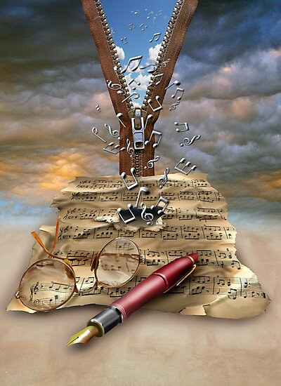 I WRITE THE SONGS........ by Mugsy