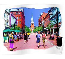 Vermont Street Painting Poster