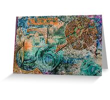 Green Earth Puzzle Greeting Card