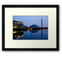BBC Scotland at Dusk Framed Print