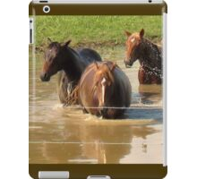 """""""Horses with Attitude no. 5, 'Hey...Youse Guys, I'm Still Talkin'""""... prints and products        iPad Case/Skin"""