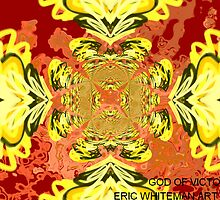 ( GOD OF VICTORY )  ERIC WHITEMAN  ART  by eric  whiteman
