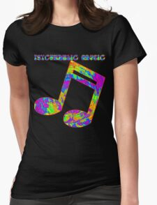 Psychedelic Rock 3 Womens Fitted T-Shirt