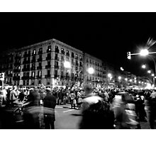 New Year Parade in Barcelona Photographic Print