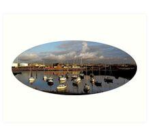 """Yachts of boats"" Art Print"