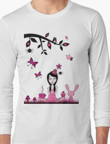 Pinky In Pinky Land T Long Sleeve T-Shirt