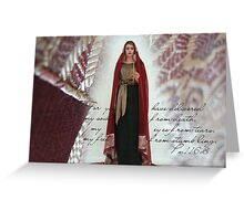 """The Crucifixion"" Greeting Card"