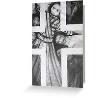 Within The Cross Greeting Card