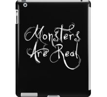 Monsters Are Real iPad Case/Skin