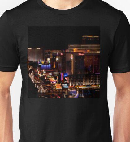 Las Vegas Tilt Shift Unisex T-Shirt