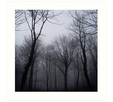 Mistic trees Art Print
