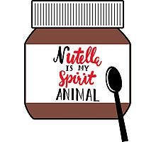 Nutella is My Spirit Animal Photographic Print
