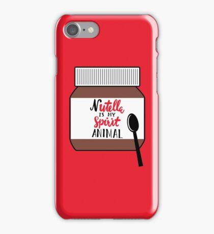 Nutella is My Spirit Animal iPhone Case/Skin