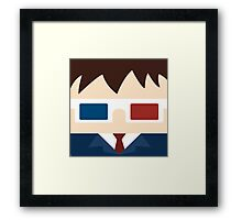 10th doctor, David Tennant Framed Print