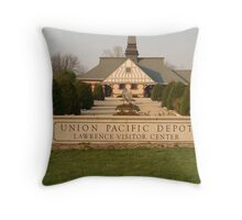 Lawrence In The Sunset Throw Pillow