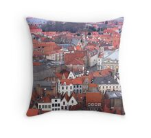 Bruges Terra Cotta Throw Pillow