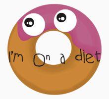 Donut - I'm on a diet Kids Tee