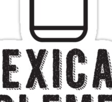 MEXICAN SUPPLEMENTS Sticker