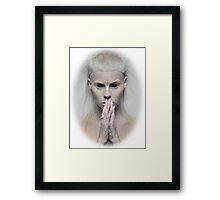 Satanic Yolandi Visser  Framed Print
