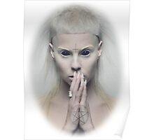 Satanic Yolandi Visser  Poster