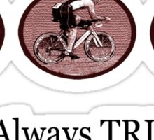 Man Always Tri Sticker