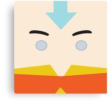 Aang, Avatar the last airbender Canvas Print