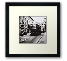 London bus 9 Aldwych Framed Print