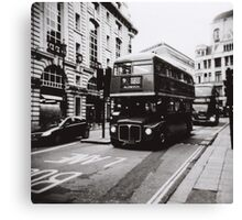 London bus 9 Aldwych Canvas Print