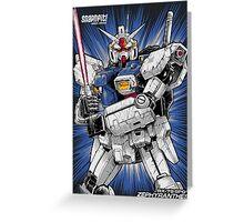 Zephyranthes Gundam Tees Greeting Card