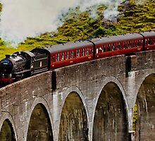 Hogwart's Express by Martin Slowey