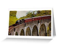 Hogwart's Express Greeting Card