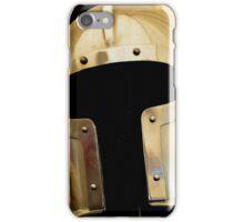 Medieval Barbuta helmet iPhone Case/Skin