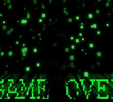 Game Over - Matrix by cxmarriott